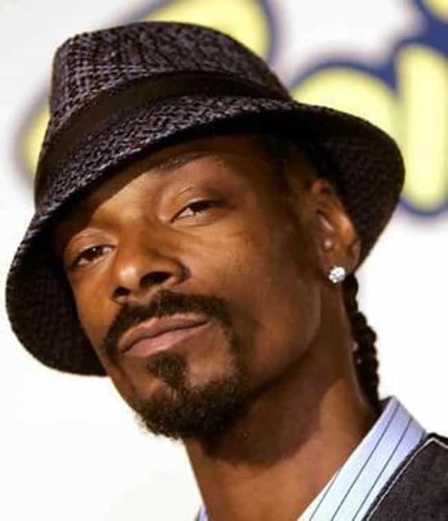 Snoop Dogg is listed (or ranked) 4 on the list Celebrities Who Own Bitcoin