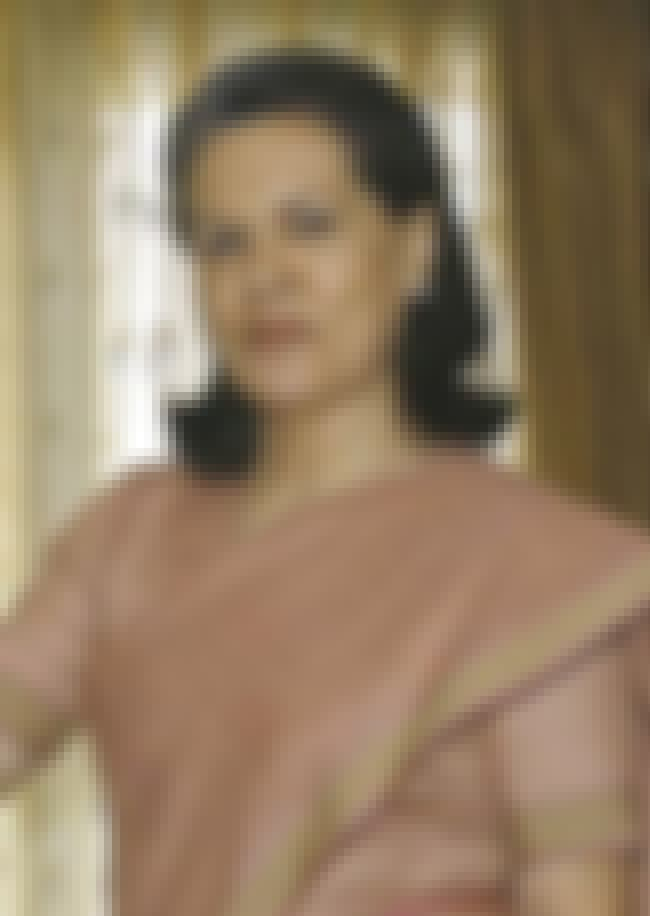 Sonia Gandhi is listed (or ranked) 3 on the list Members of the Nehru-Gandhi Family