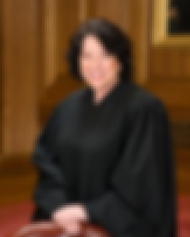 Sonia Sotomayor is listed (or ranked) 3 on the list Famous Female Judges