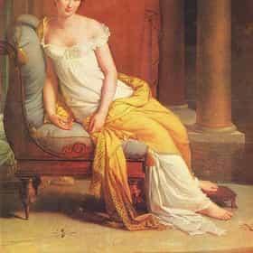 Portrait of Juliette Recamier