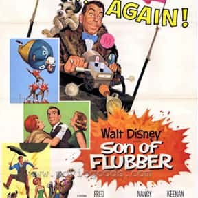 Son of Flubber is listed (or ranked) 14 on the list The Best Disney Science Fiction Movies Of All Time