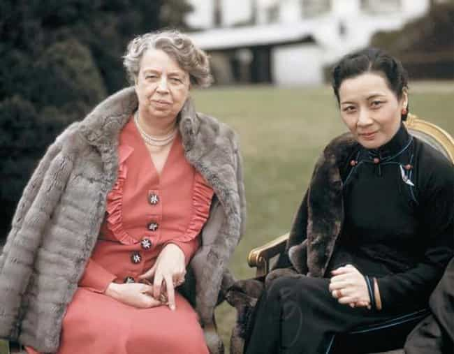 Soong May-ling is listed (or ranked) 2 on the list Members of the Family Of Chiang Kai-shek