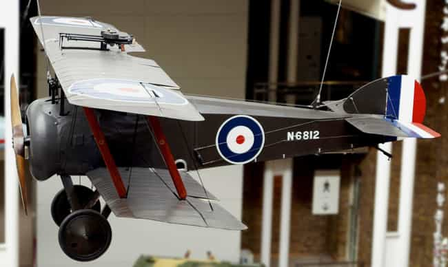 Sopwith Camel is listed (or ranked) 2 on the list The Best World War 1 Airplanes