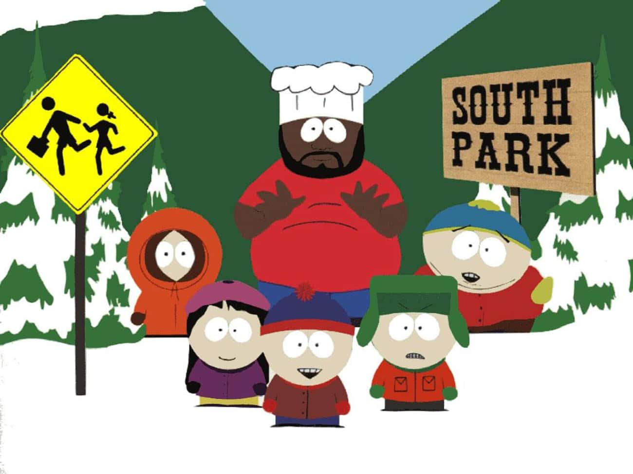 South Park is listed (or ranked) 4 on the list What To Watch If You Love 'Big Mouth'