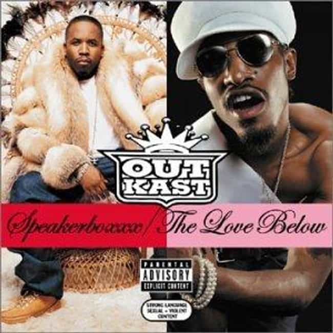 Speakerboxxx/The Love Below is listed (or ranked) 4 on the list The Best OutKast Albums of All Time