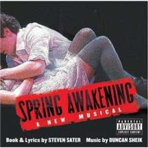 Spring Awakening is listed (or ranked) 15 on the list The Best Broadway Musicals of the 2000s