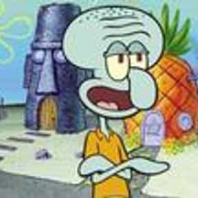 Squidward Tentacles is listed (or ranked) 1 on the list Current TV Characters Who Are the Most Relatable