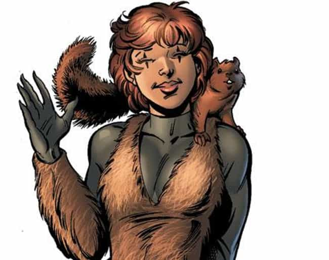 Squirrel Girl is listed (or ranked) 3 on the list The Most Ridiculous Superheroes Ever