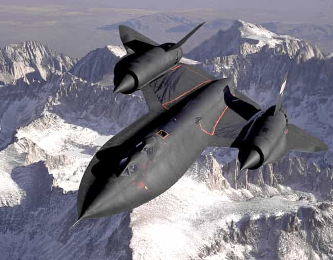 Lockheed SR-71 Blackbird is listed (or ranked) 1 on the list The Sexiest Military Aircrafts