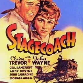 Stagecoach is listed (or ranked) 20 on the list The Best Black and White Movies Ever Made