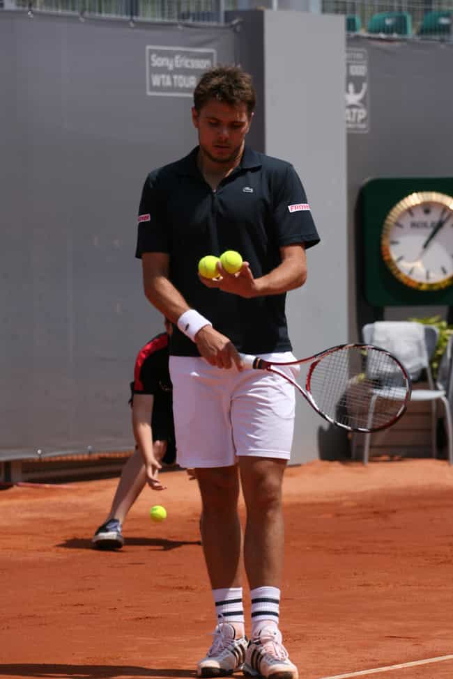 Stanislas Wawrinka is listed (or ranked) 2 on the list The Best Tennis Players from Switzerland