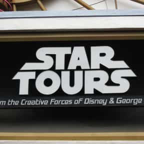 Star Tours is listed (or ranked) 10 on the list The Best Rides at Disneyland