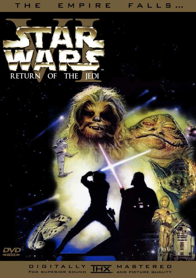 Star Wars: Episode VI – Return... is listed (or ranked) 4 on the list Special Effects We Wish Were Real