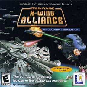 Star Wars: X-Wing Alliance is listed (or ranked) 8 on the list The Best Space Combat Simulator Games of All Time