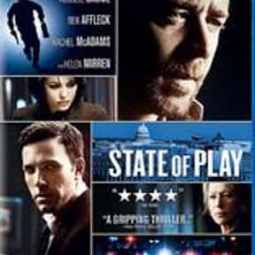 State of Play is listed (or ranked) 15 on the list The Best Movies of 2009