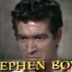 Stephen Boyd is listed (or ranked) 9 on the list Full Cast of The Bible: In The Beginning Actors/Actresses