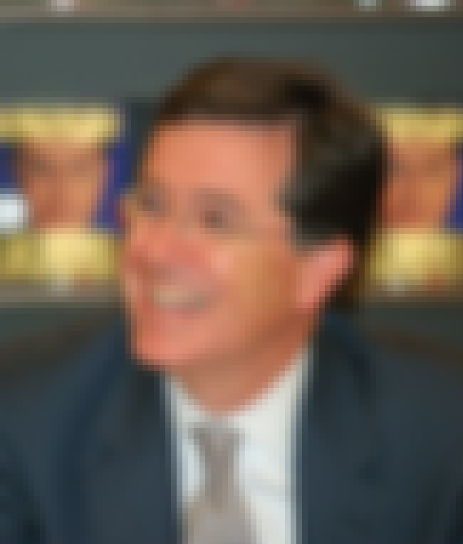 Stephen Colbert is listed (or ranked) 7 on the list Famous Male Talk Show Hosts