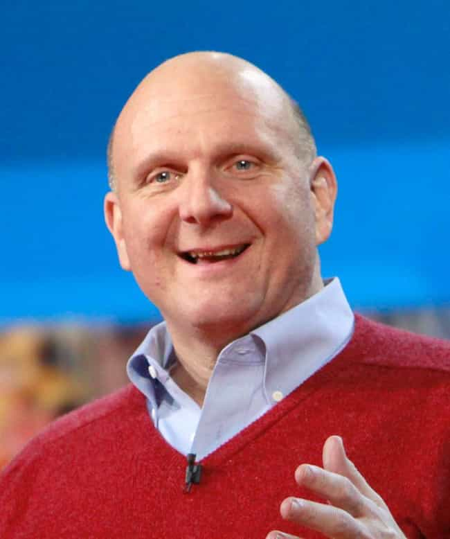 Steve Ballmer is listed (or ranked) 1 on the list The Most Successful Obese Americans