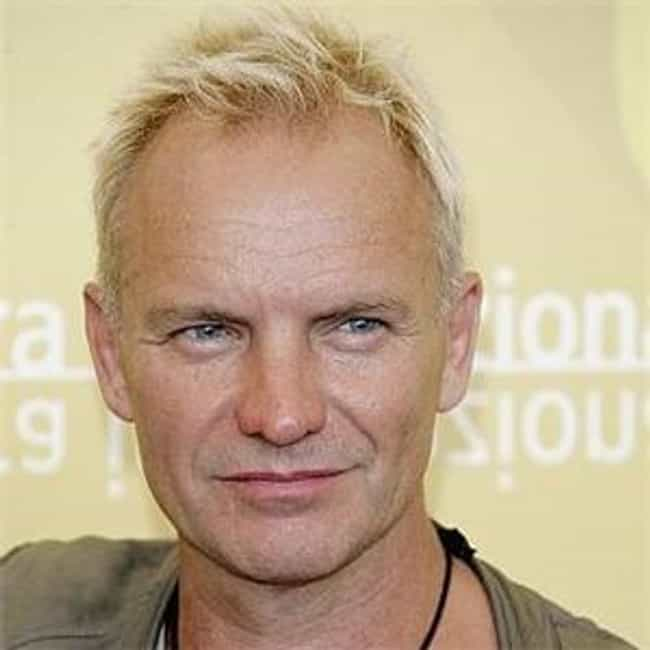 Sting is listed (or ranked) 3 on the list 33 Famous People Who Were Teachers