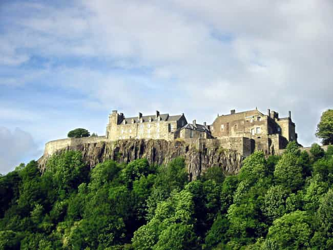 Stirling Castle is listed (or ranked) 4 on the list The Most Beautiful Castles in Scotland