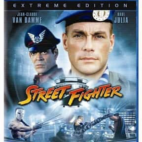 Street Fighter is listed (or ranked) 25 on the list The Greatest Guilty Pleasure Action Movies