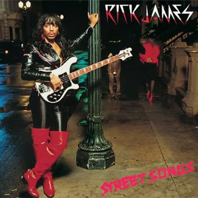 Street Songs is listed (or ranked) 1 on the list The Best Rick James Albums of All Time