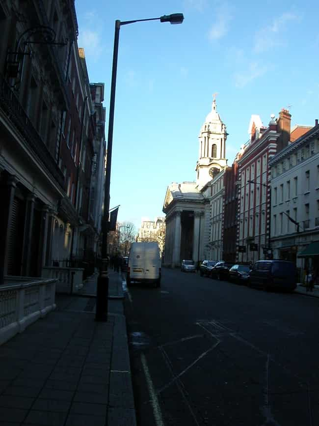 St George Hanover Square... is listed (or ranked) 7 on the list Famous Corinthian order buildings