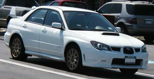 Subaru Impreza WRX STI ... is listed (or ranked) 3 on the list Full List of Subaru Models