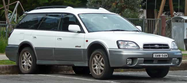 Subaru Outback Is Listed Or Ranked 2 On The List Full Of