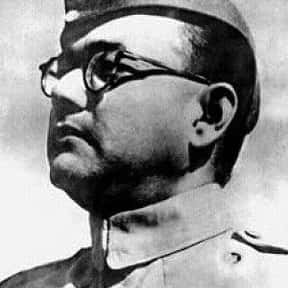 Subhash Chandra Bose is listed (or ranked) 12 on the list The Most Enlightened Leaders in World History