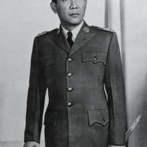 Sukarno is listed (or ranked) 3 on the list Famous People From Indonesia
