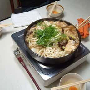 Sukiyaki is listed (or ranked) 21 on the list The Best Types of Japanese Food