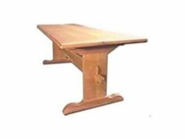 Trestle Table is listed (or ranked) 1 on the list Full List of The New Yankee Workshop Episodes