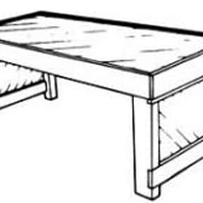 Coffee Table is listed (or ranked) 9 on the list Types of Tables