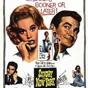 Sunday in New York is listed (or ranked) 21 on the list The Best '60s Romantic Comedies