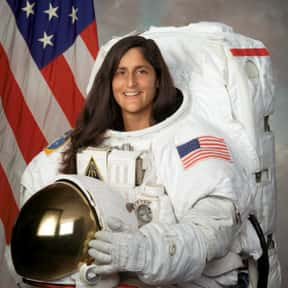 Sunita Williams is listed (or ranked) 12 on the list List of Famous Test Pilots