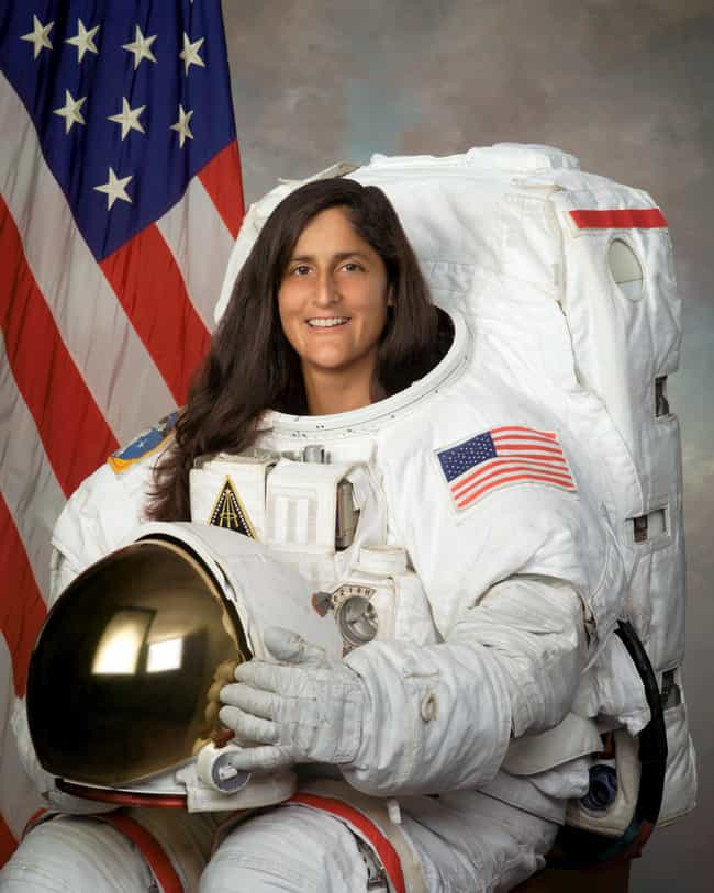 Sunita Williams is listed (or ranked) 3 on the list Famous Female Test Pilots