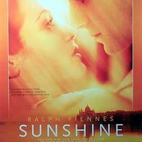 Sunshine is listed (or ranked) 21 on the list The Best Ralph Fiennes Movies