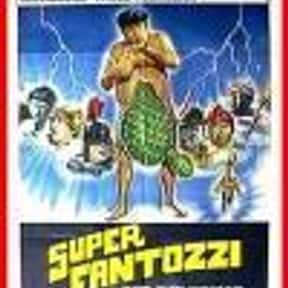 Superfantozzi is listed (or ranked) 11 on the list The Best Paolo Villaggio Movies