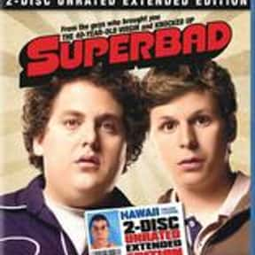 Superbad is listed (or ranked) 10 on the list The Funniest Movies of the 2000s