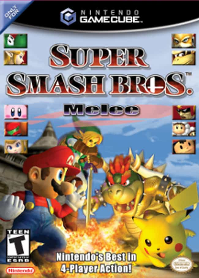 Super Smash Bros. Melee ... is listed (or ranked) 2 on the list All Super Smash Bros. Games, Ranked