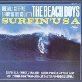 Surfin' USA is listed (or ranked) 18 on the list The Best Beach Boys Albums of All Time