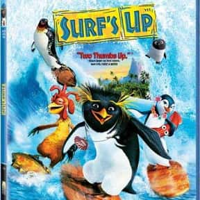 Surf's Up is listed (or ranked) 13 on the list The Best Shia LaBeouf Movies