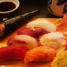 Sushi is listed (or ranked) 6 on the list The BestPinot GrigioFood Pairings, Ranked