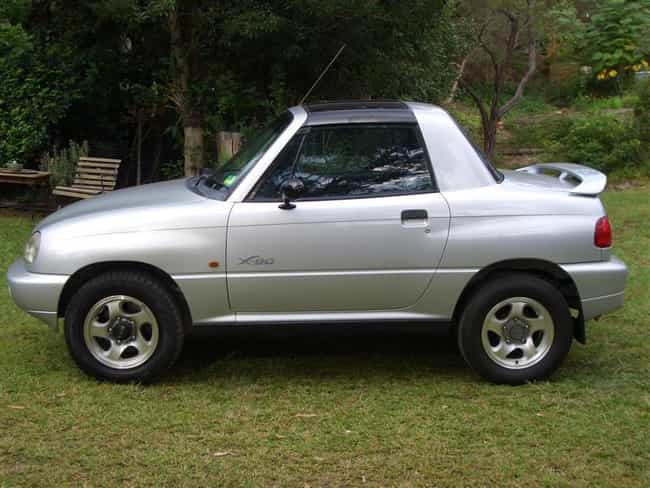 Suzuki X-90 is listed (or ranked) 3 on the list Full List of Suzuki Models