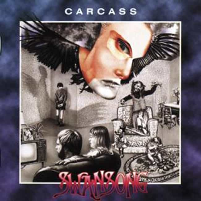 Swansong is listed (or ranked) 4 on the list The Best Carcass Albums of All Time