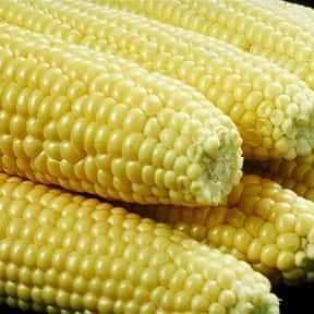 Sweet corn is listed (or ranked) 2 on the list The Tastiest Vegetables Everyone Loves Eating