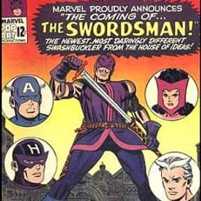 Swordsman is listed (or ranked) 14 on the list List Of All Marvel's Avengers