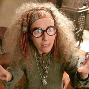 Sybill Trelawney is listed (or ranked) 13 on the list The Very Best Teachers at Hogwarts, Ranked