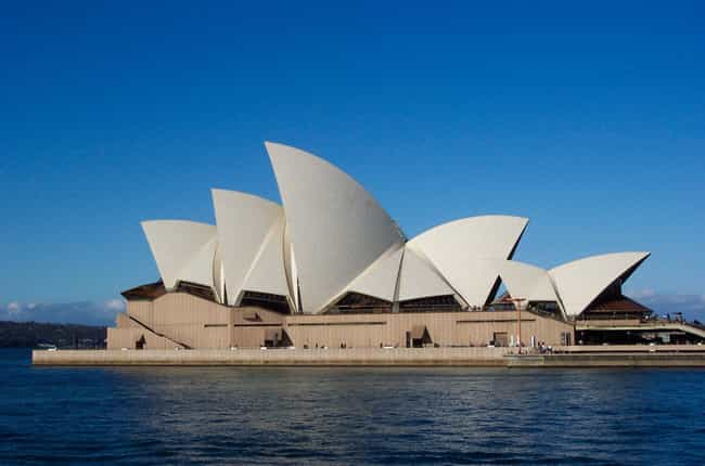 Sydney Opera House is listed (or ranked) 3 on the list The Greatest Architectural Marvels On Earth